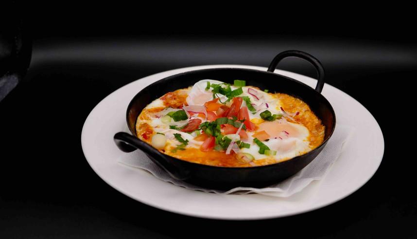 Shakshuka Frühstück-Amacord Cafe Restaur