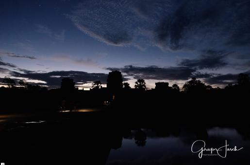 Angkor Wat Temple Cambodia morning