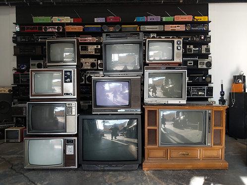 Vintage TV Wall QTY:10 #2