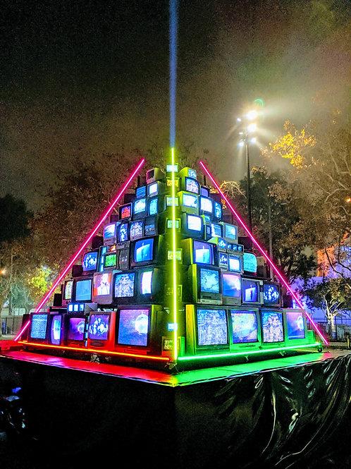 Vintage TV Pyramid