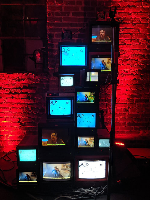 Vintage TV Wall QTY:14