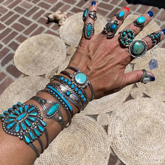 Did I mention vintage turquoise_! Come t