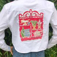 Who's going to the races_  #denimjacket