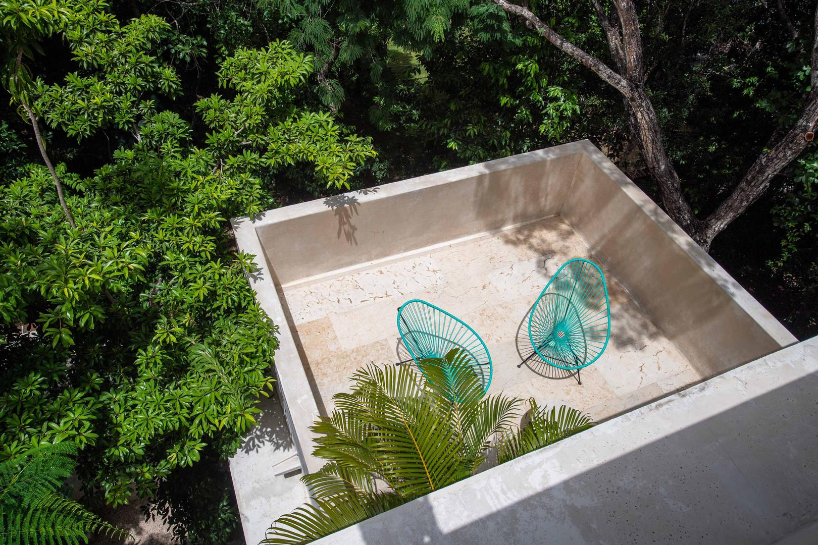 Hotel Tiki Tiki Tulum Suite #13 Terrace