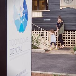 Mother-and-children-entering-Toowoomba-Dental-practice.jpg