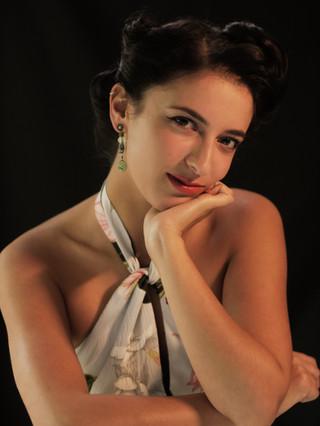 Phoebe MUA Shoot