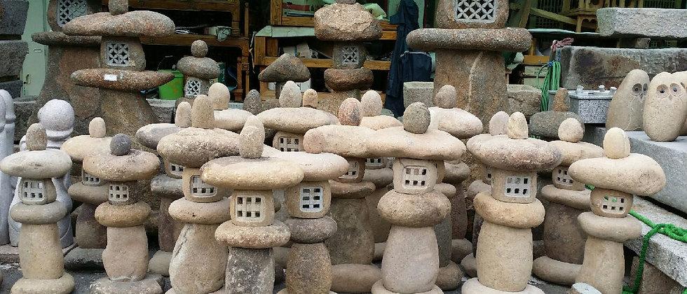 알돌석등 규격 형식 다양