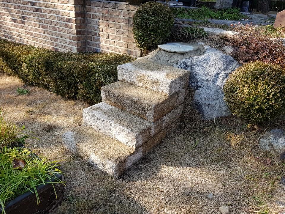 돌마을 600 골드손정 계단석