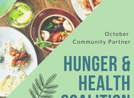 October 2020 Community Partner: Hunger & Health Coalition