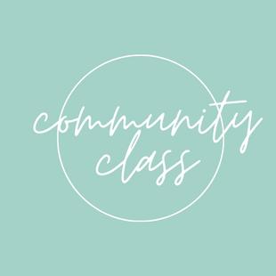 Community Class