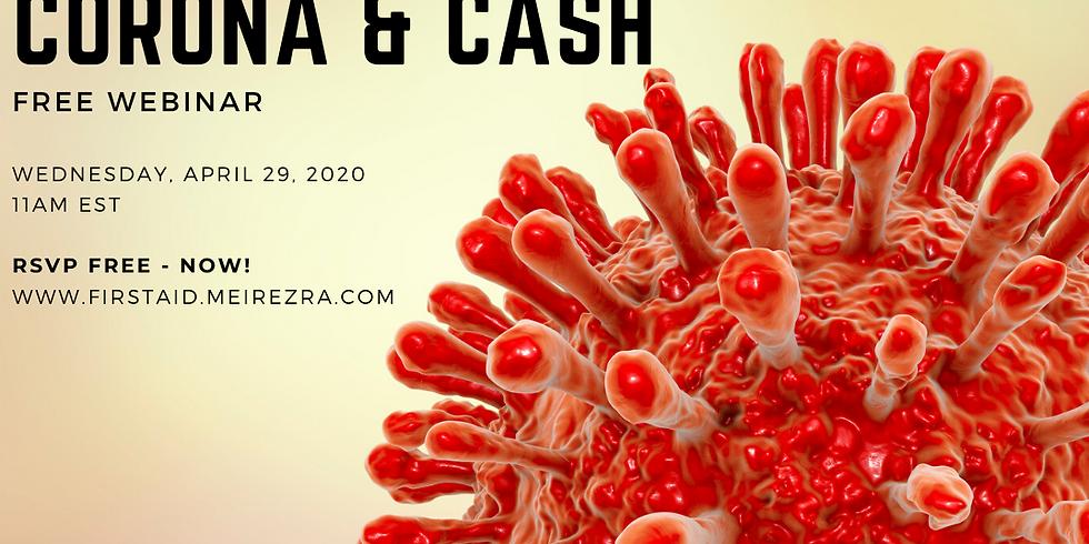 Free Webinar - Corona and Cash - First Aid