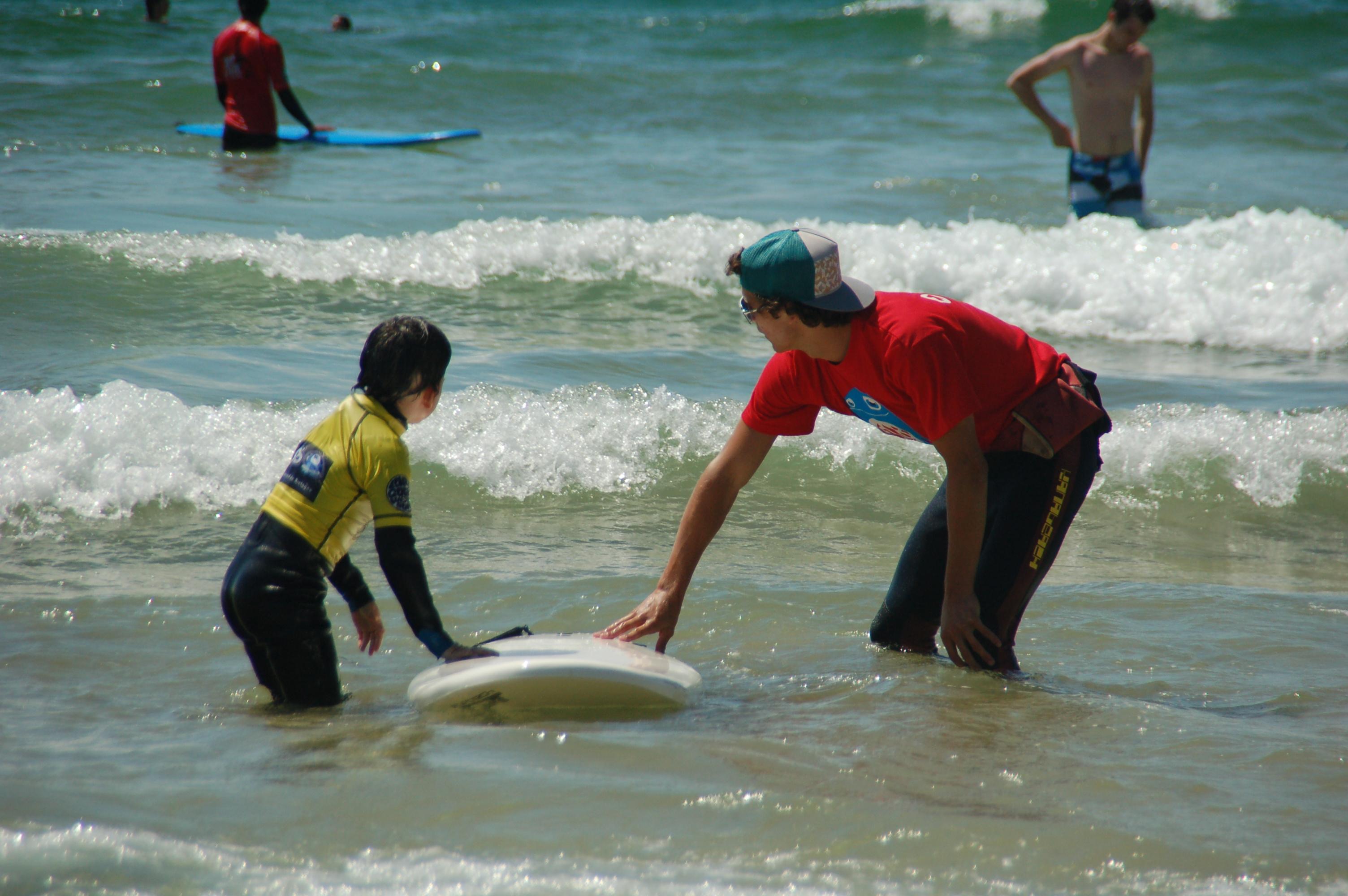 cours de surf dès 5ans