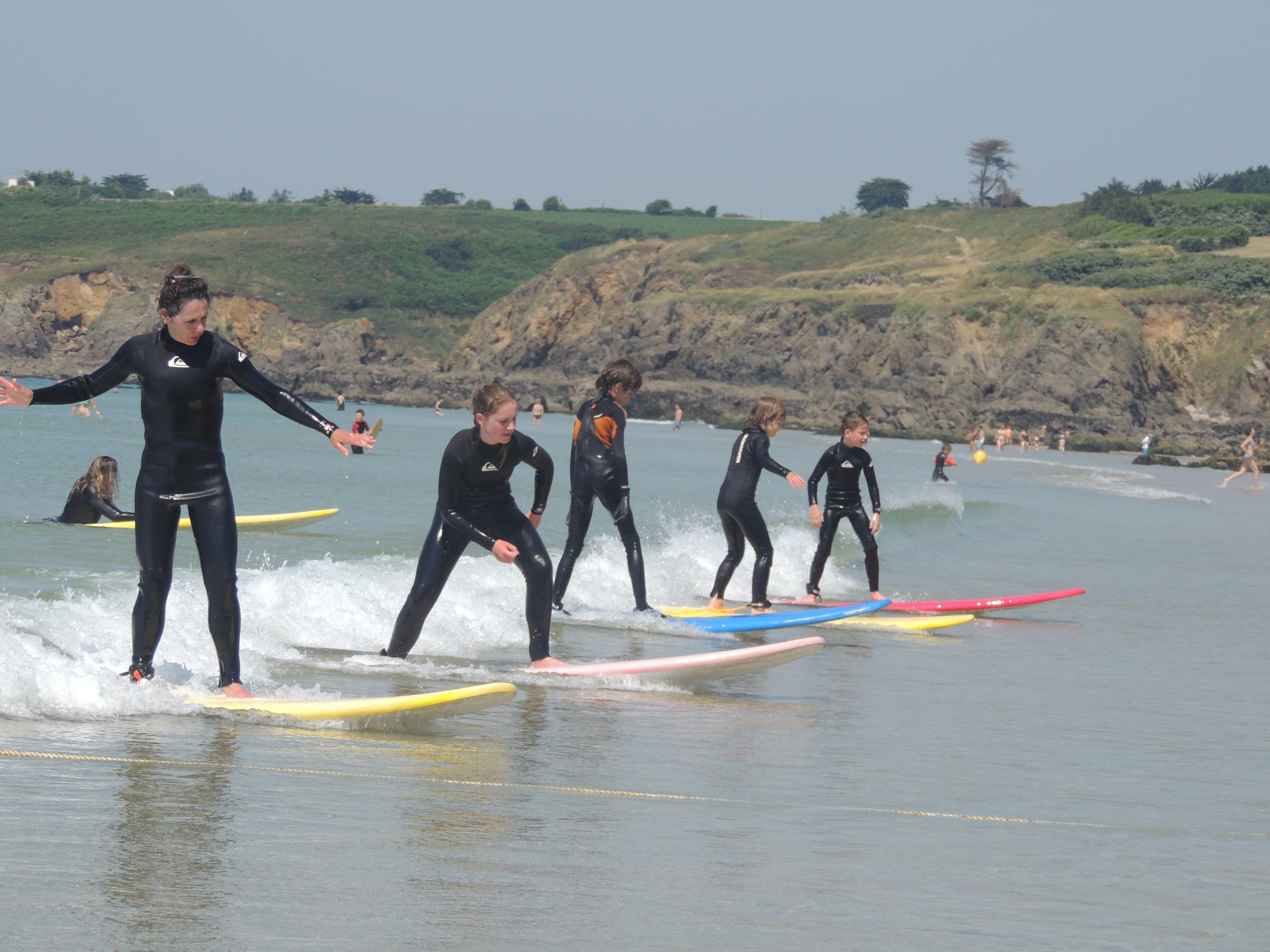 cours de surf bretagne