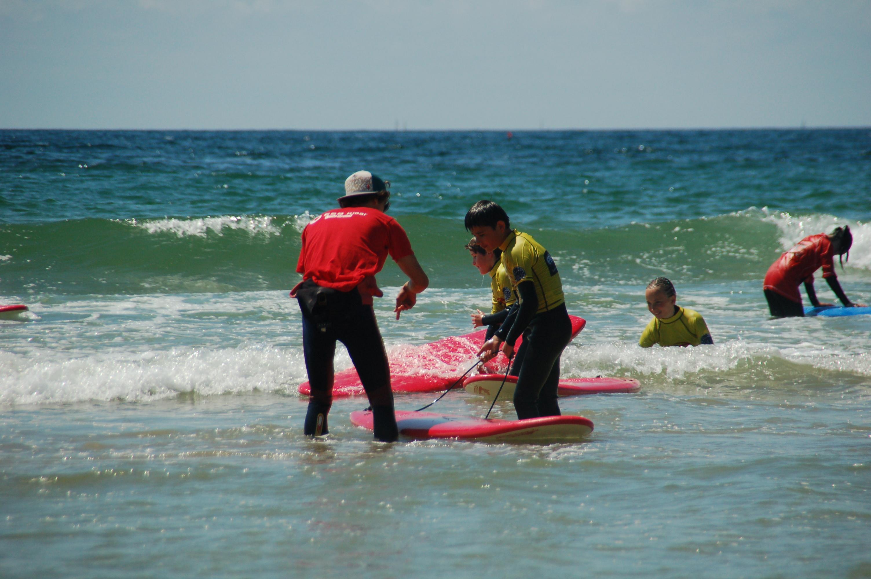 ecole de surf Finistère