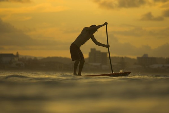 Balade en mer, location de stand up paddle au pouldu à clohars carnoet