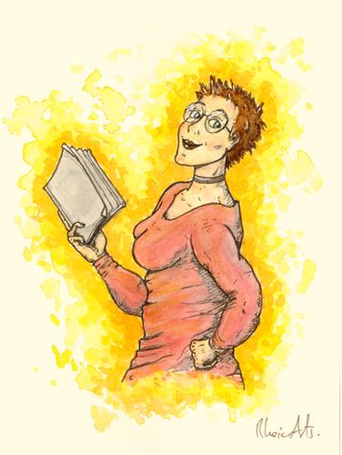 Author Half Body