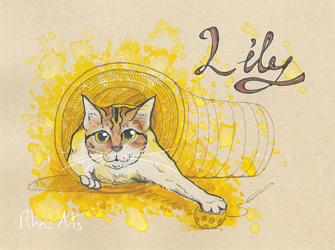 Cat Cafe Lily