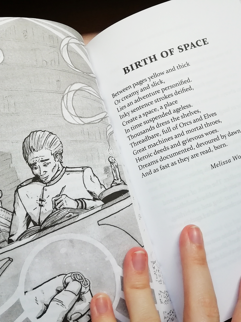 Birth of Space Poem