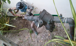 Separated house & Garden water Lines