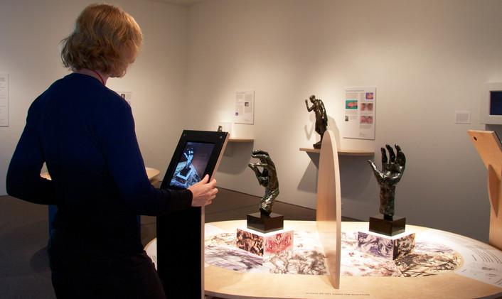 Exhibit table - Broken & Repaired hands