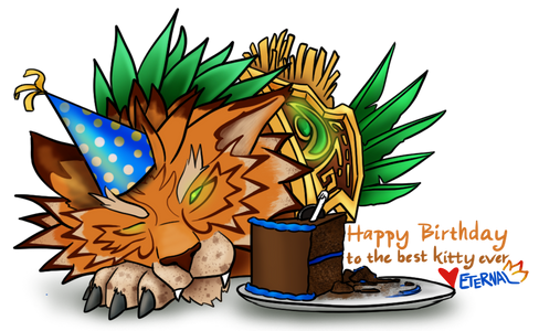 Meowing Birthday