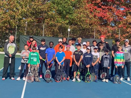 Casey Curtis Tennis Academy Visits Beautiful North Bay