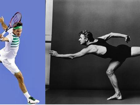Federer & Baryshnikov, Perfection is No Accident