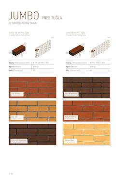 General Catalogue - Bricks:Clinker:Facad