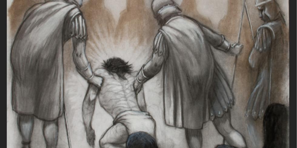 "Marvin Messing Art Exhibit ""Art of the Cross"""