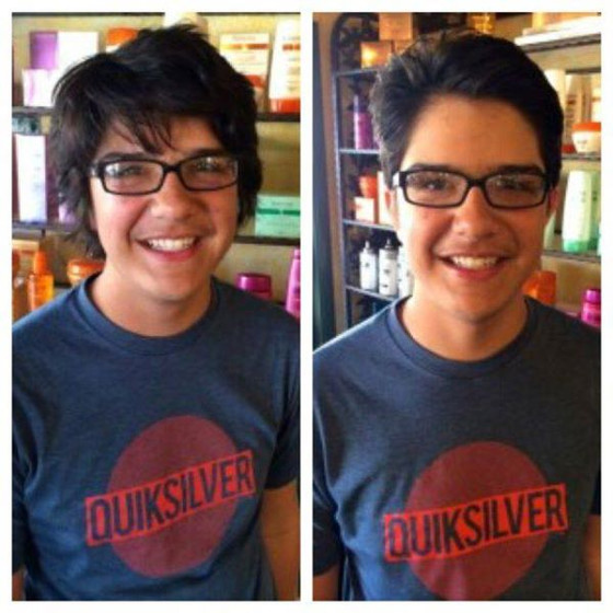 Before & After Haircuts