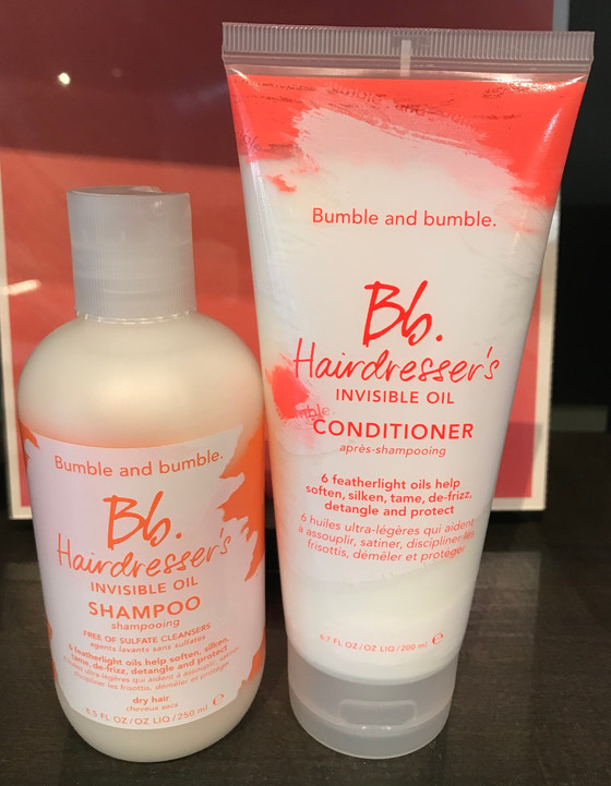 Hairdresser's Invisible Oil Shampoo & Conditioner