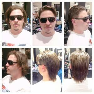 Before & After Mens Hair