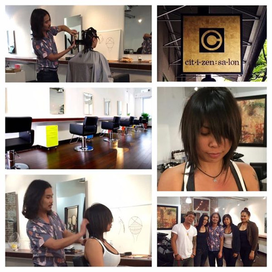 Artistic Haircutting Class @ Citizen Salon