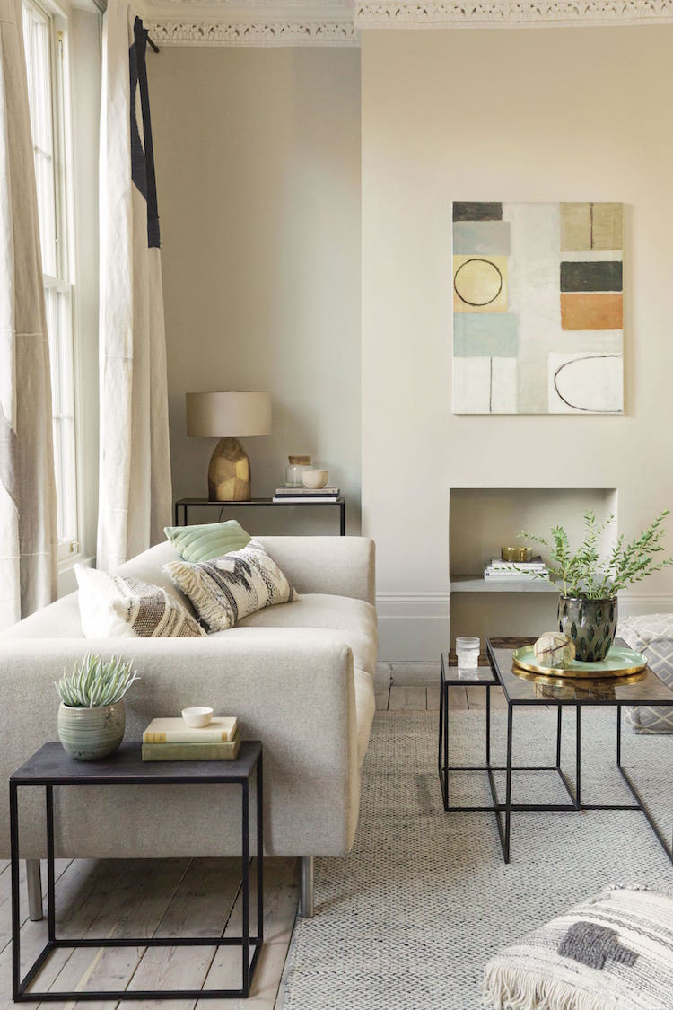 2019 beige interiors colour trend