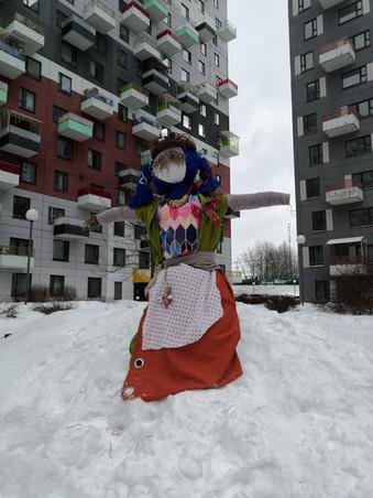 """Фотоотчет с традиционного дворового праздника Широкой Масленицы в """"Эдальго"""". 2021 год."""