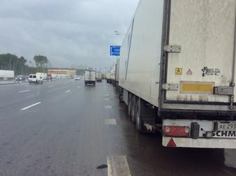 Обращение по вопросу стоянки фур на Калужском шоссе