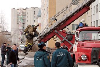 Противопожарная тренировка в Эдальго