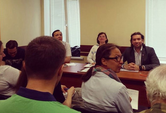 Участие во встрече инициативных групп поселения Московский