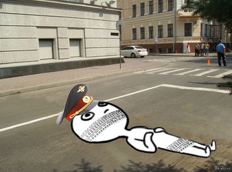 Улица Липовый парк: запрет парковки грузовиков и лежачие полицейские.