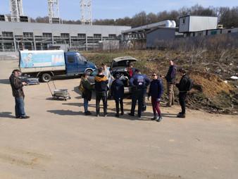 Фотоотчет субботника в Бутовском лесу (вблизи ул. Бачуринской), который состоялся 17 апреля