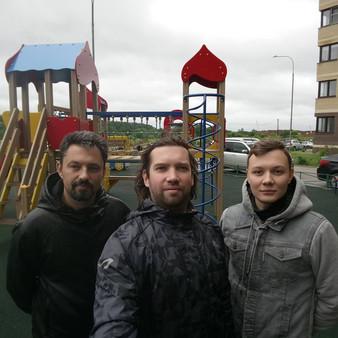 Рейд по детским площадкам в Коммунарке