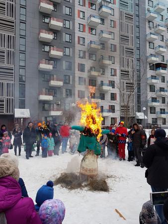 """Празднование масленицы в """"Эдальго"""" в 2019 году (фото отчет)"""