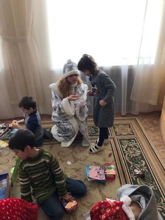 Отчет о гуманитарной акции