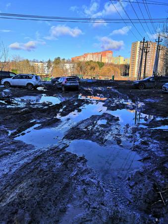Просим привести в порядок, обустроить спортивные площадки и озеленить территорию