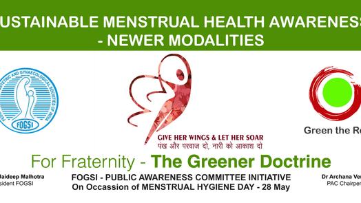 The Greener Doctrine - Sustainable Menstrual Health Awareness for Doctors