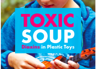 Press Release: Dioxins Found in Plastic Toys – Stricter Limits Are Required to Stop Toxic Chemicals