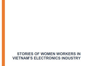 New Report Reveals the Lives of Vietnamese Women Workers Making the Samsung Smart Phones
