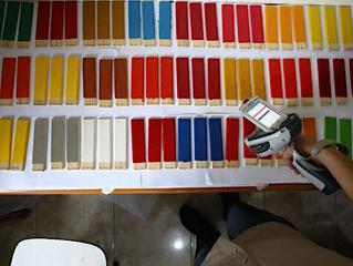 Hasil pengamatan sementara 120 sampel cat: 68,3% masih mengandung timbal tinggi