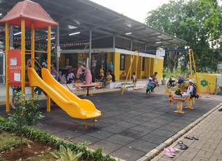 Nexus3 Menemukan Peralatan Bermain Anak Luar Ruangan di Jakarta  Dilapisi dengan Cat Bertimbal denga