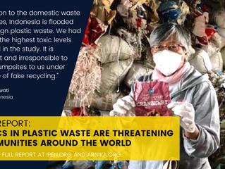 Siaran Pers: Bahan Kimia Beracun dalam Limbah Plastik